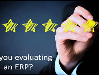 Are you evaluating an ERP?