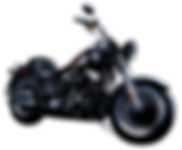 black-color-harley-davidson-motorcycle-b