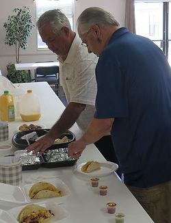 Eliah and Micah at men's breakfast.jpg