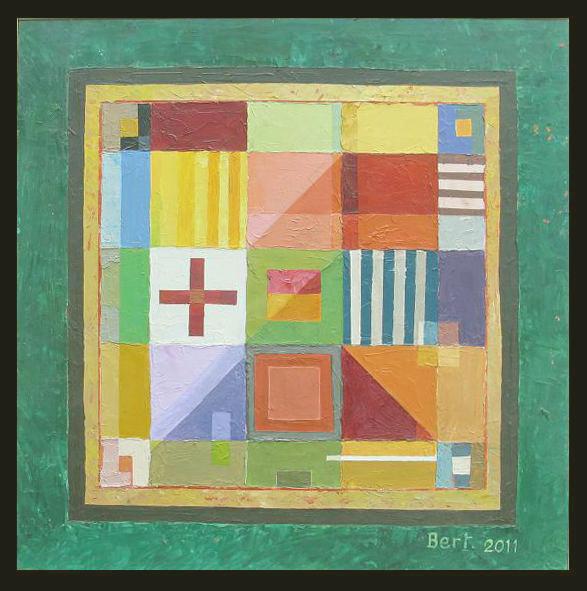 grand_carré_vert-2011_huile_sur_bois_71x