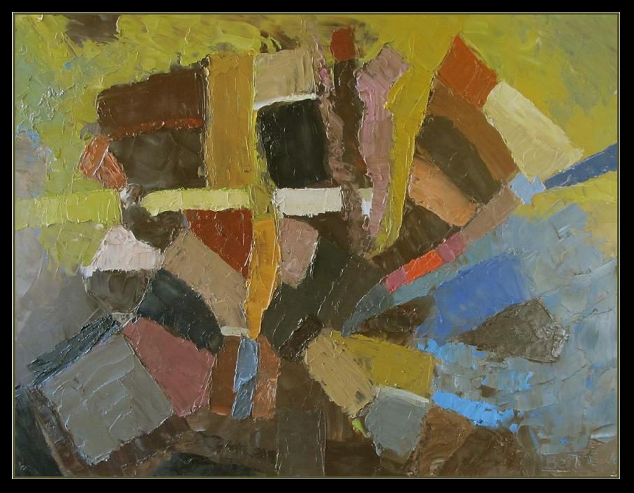 terre d'Ombrie-2013 huile sur bois 65x50