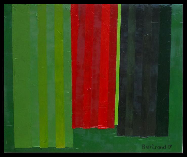 sans titre -2017 huile sur toile 55x46cm