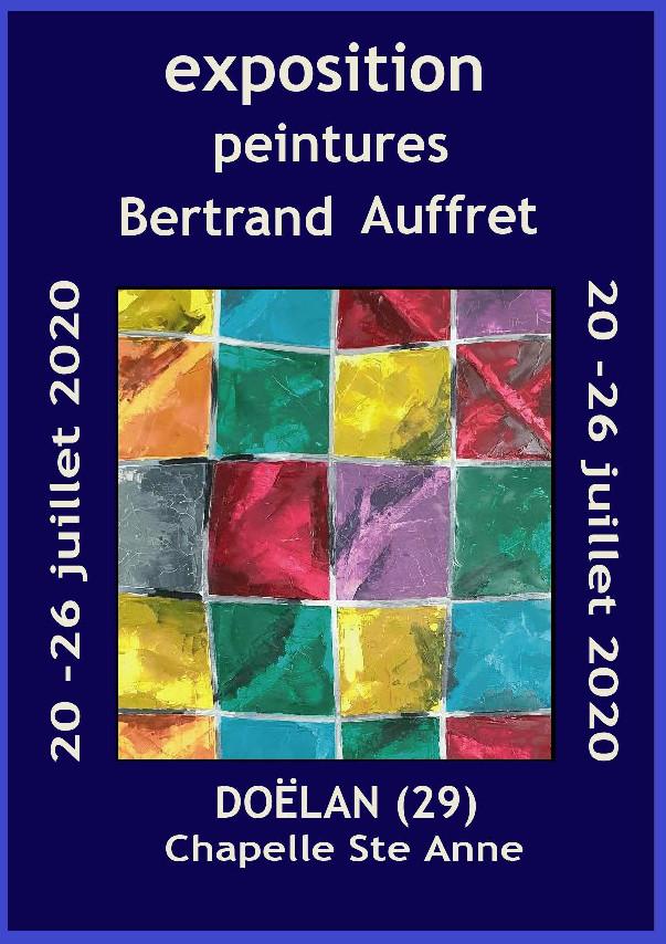Exposition du 20 au 26 juillet 2020 - Chapelle Sainte-Anne à Doëlan