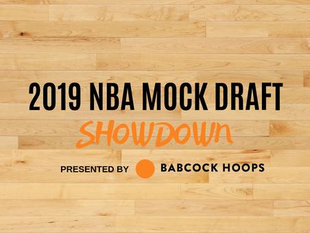 2019 NBA Mock Draft Showdown: Matt Babcock vs. Matt McKay Jr.