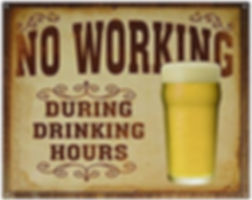 No Working!