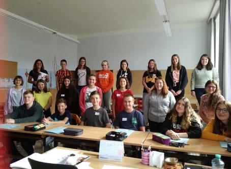 AMS-Information in den 4. Klassen