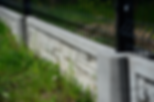 Płyty betonowe prefabrykowane do paneli ogrodzeniowych siatki plecionej zbrojone tanie trwałe mocne Pawlik Ogrodzenia