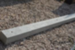 słupki betonowe do siatki leśnej plecionej sadu malin Pawlik Ogrodzenia