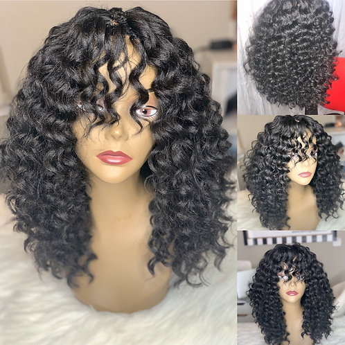 Crochet wig