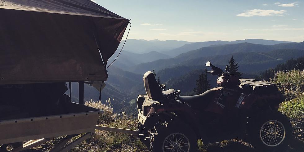 Paiute Overland Trailer Ride