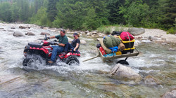 River Crossing with trailer