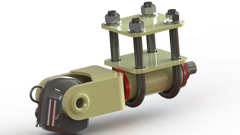 Offroad Trailer Hitch (Bolt On)