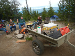 Advanced Camping trailer gear hauler