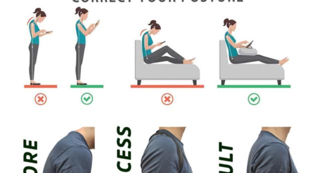 Cinturón Corrector de postura ajustable para hombre y mujer
