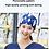 Thumbnail: Gorro de trabajo con estampado para médico, laboratorio