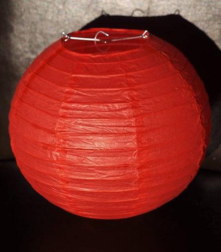 x19 Red Paper Lanterns