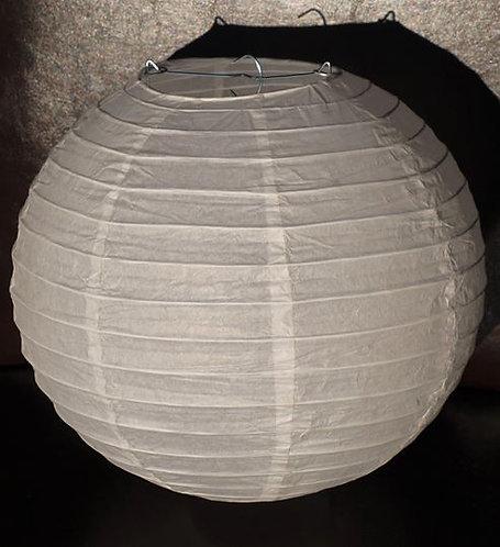 x15 White Paper Lanterns