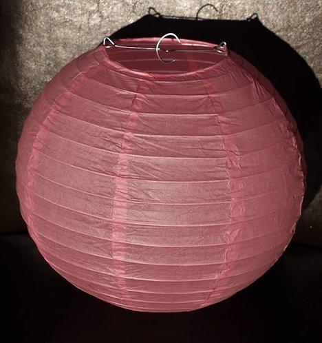 x19 Pink Paper Lanterns