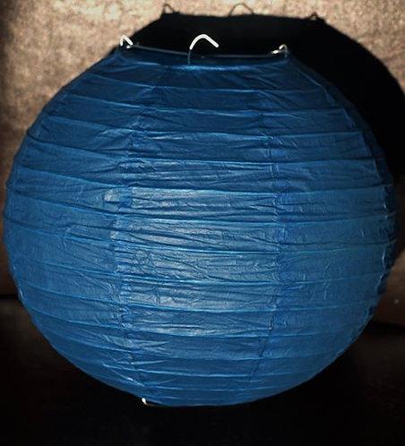 x4 Dark Blue Paper Lanterns