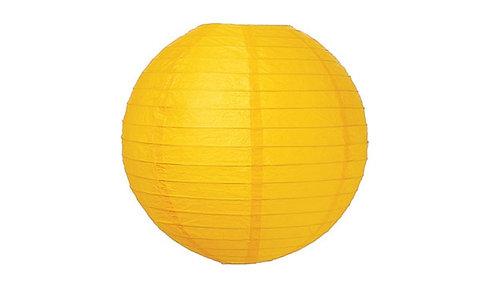 x19 Yellow Paper Lanterns