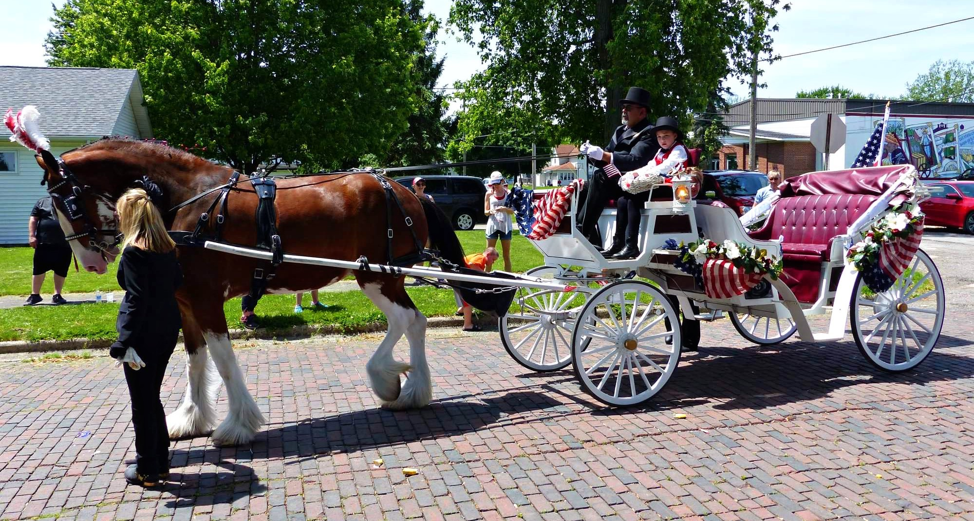 Memorial Day parade, Alger, Ohio