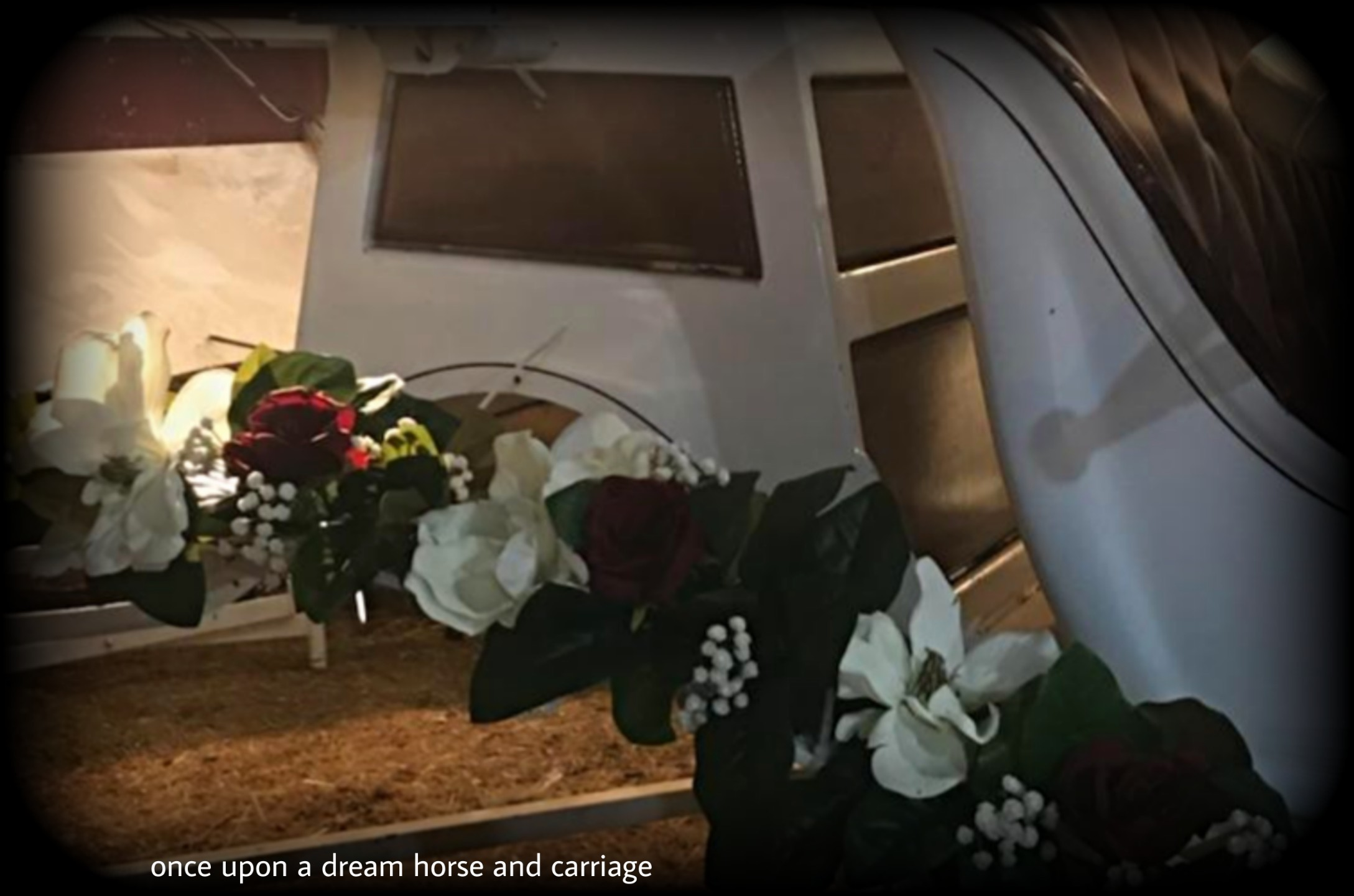 Carriage floral designs