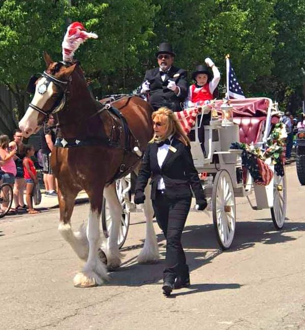 Memorial Day parade,Alger, Ohio