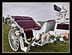 Carriage Floral package