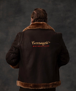 Custom embroidery Men's flying jacket