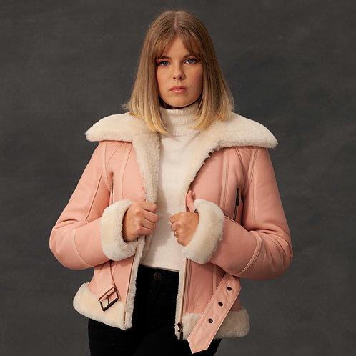 Pink ladies flying jacket