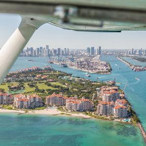 Flight Over Miami Beach
