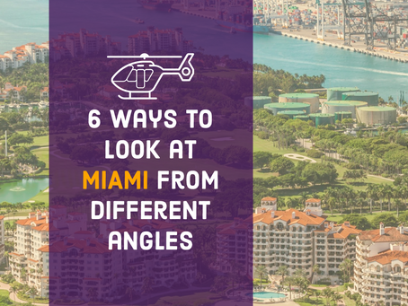 Six ways to look at Miami from different angles.