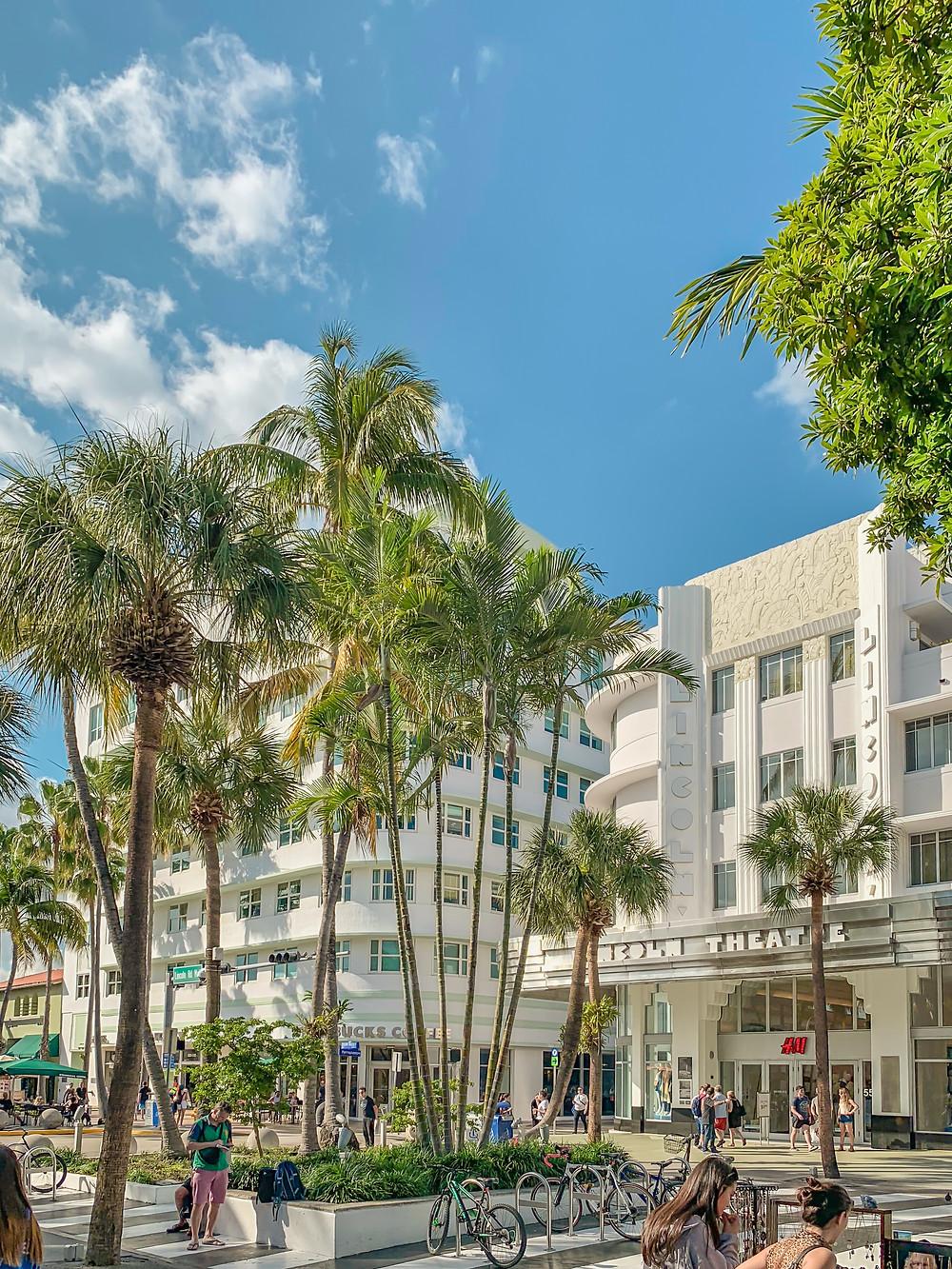 shopping mall miami beach south beach florida
