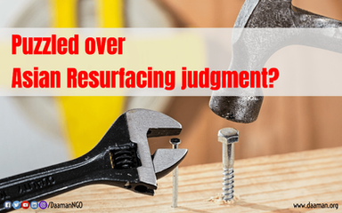 Interpreting the mystery over Asian Resurfacing judgment