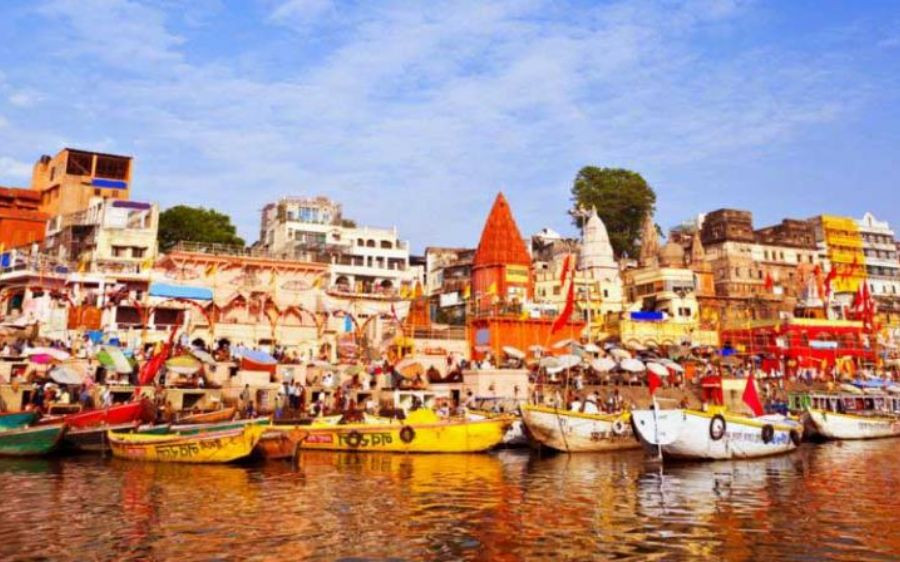 Husbands perform pind daan for 'dead' marriages in Benaras