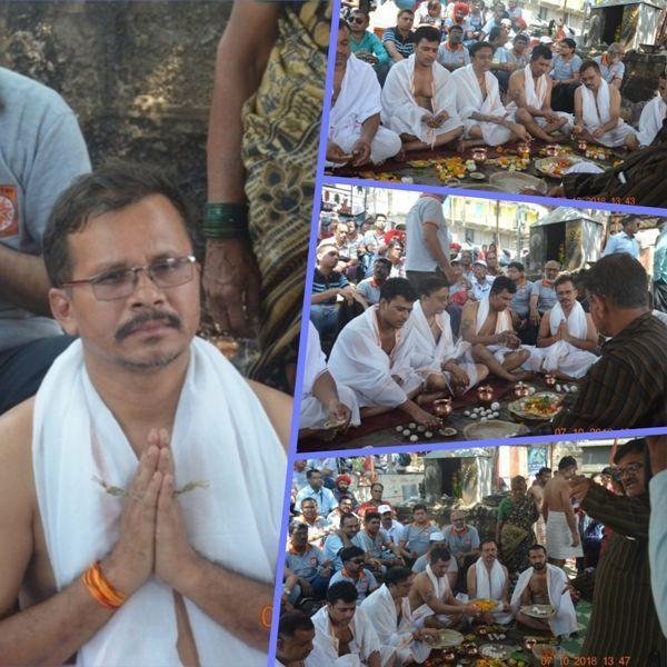 #PindDaan at Nashik, Maharashtra