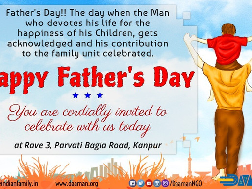 FATHER'S DAY - 2019 (Press Release)