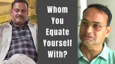 Whom Do You Equate Yourself With? A Criminal or an Innocent and Brave Officer?