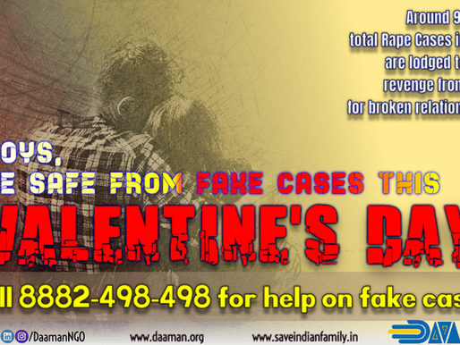 Valentine's Day - Be cautious