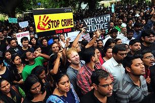 Protest against feminism by 150 men at Varanasi