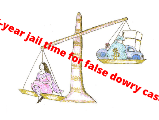 New law proposes 5-year jail time for false dowry case in Bangladesh