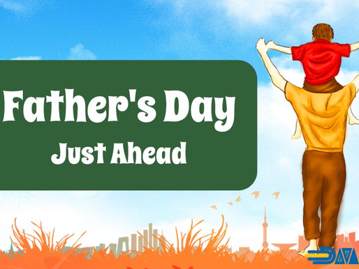 Father's Day is just ahead