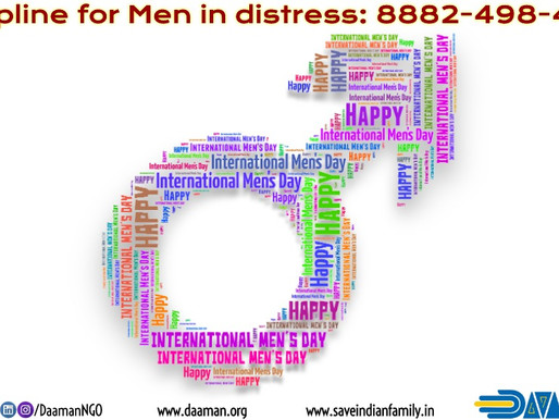 Why we celebrate International Men's Day?