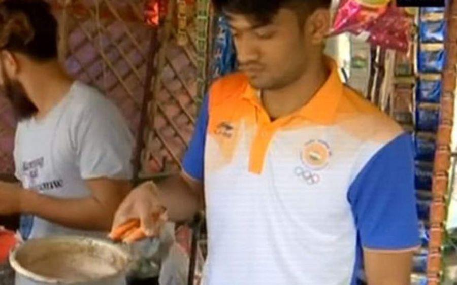 Harish Kumar, the Asian Games bronze medallist, sells tea for a living