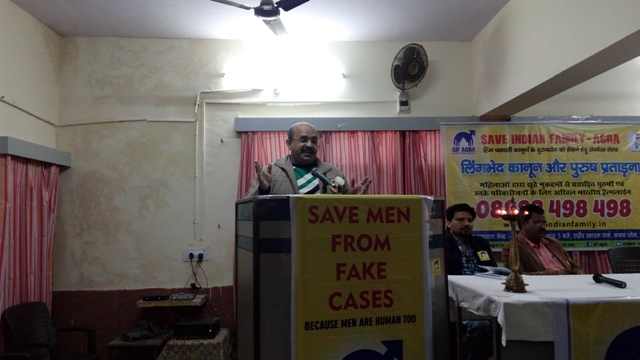 Anupam Dubey addressing the seminar