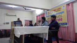 Yaksh Singh addressing the seminar