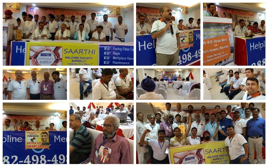 4th UP State Meet on Men's Issues - Bareilly