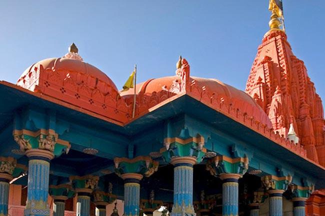 Savitri temple in Pushkar, Rajasthan