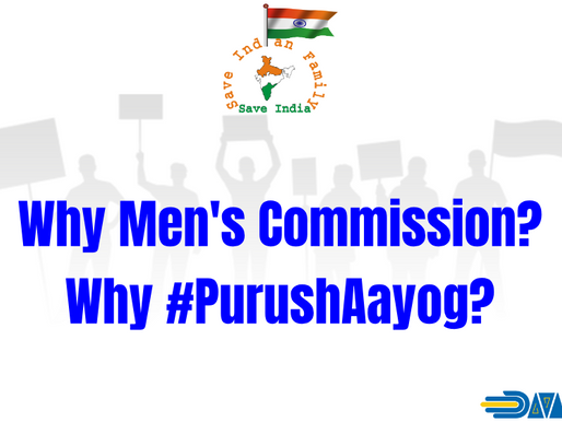 Why do we need Men's Commission or 'Purush Aayog'?