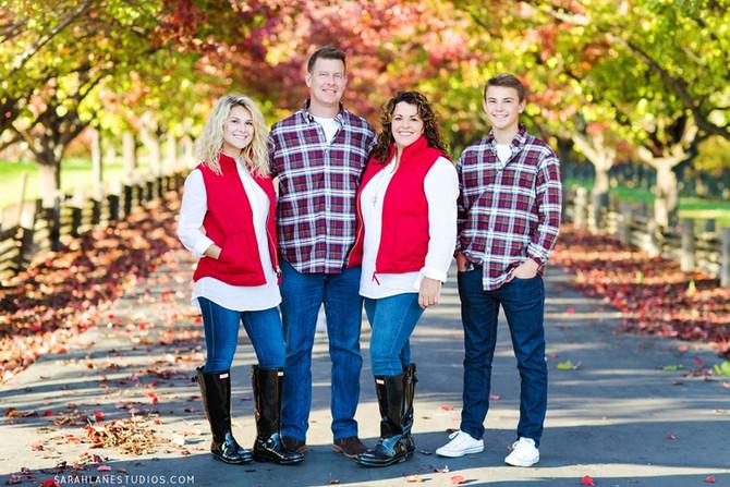 The Commander Family | Napa Valley Family Portrait Photography | Studio Twelve